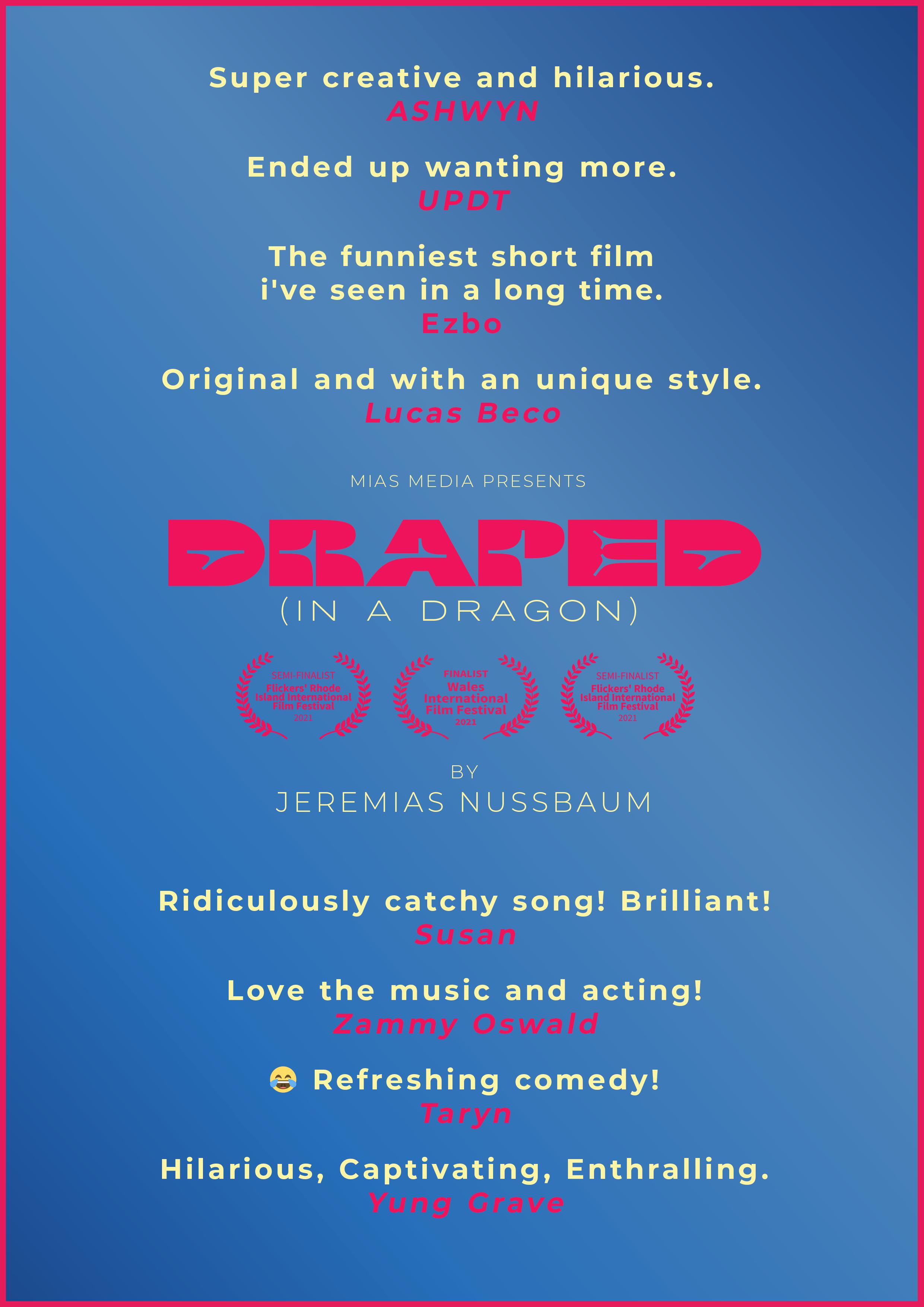 Draped (In A Dragon)